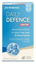 Blis K12 Daily Defence Vanila Probiotic Powder Junior 45g for ear nose throat