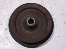 Jeep power steering pump pulley 258 6 cyl 2.5 4 cyl CJ Wrangler 2 groove keyed