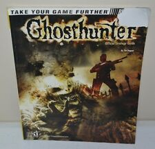 USED Ghosthunter BradyGames Strategy Guide Playstation 2 PS2