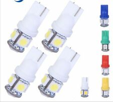 1000PCS T10 Wedge 5-SMD 5050 LED Light bulbs W5W 2825 158 192 168 194 White Lamp