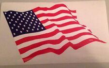 American Flag Bumper Sticker USA Patriotic Military United States Red White Blue