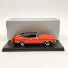 1/43 1969 Dodge Charger R/T Bumble Bee Stripe - Orange Resin Limited Models