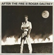 "ROGER DALTRY ~ AFTER THE FIRE/IT DON'T SATISFY ME 1985 ATLANTIC 7"" SINGLE w/PS"