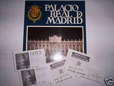 PALACIO REAL DE MADRID + 2 PLACES GOYA 250E ANIVERSARIO