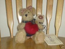 "Boyds 10"" Plush Bear Serendipity Wishkabibble"