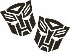 2 x Autobot Transformers Funny Car Vinyl Sticker Graphic Decal