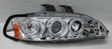 Projector Halo Angel Eye LED Headlights for 92-95 Honda Civic 2/3/4dr
