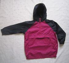 THE CHILDREN'S PLACE Half Zip Anorak Windbreaker Hooded Nylon Rain Coat Sz S 5/6