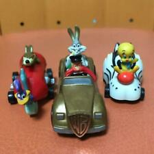 LOONY TUNES MINI CAR FIGURE SET OF 3 COLLECTIBLE RARE TOY VINTAGE 90'S F/S JAPAN