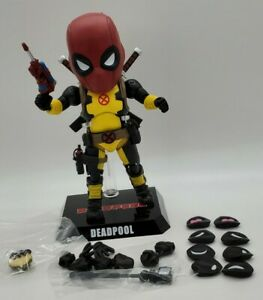 "Egg Attack Marvel Deadpool X-Men Training Suit 6"" Figure (Hot Topic Exclusive)"