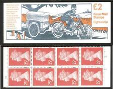 Gb 1993 Fw1 Postal Vehicle Series £2.00 Folded Booklet