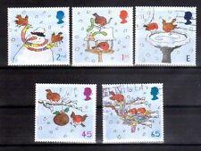 GREAT BRITAIN 2001 Christmas set used