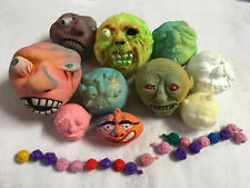 vintage lot of foam and unique Madballs weird monster designs