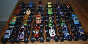 Hot Wheels Monster Jam Lot of 24