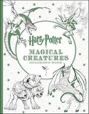 HARRY POTTER ~ NEW OFFICIAL MAGICAL CREATURES COLORING & POSTER BOOK ~ HEDWIG