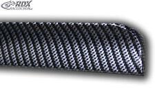 RDX Hecklippe VOLVO S60 (2010+) CARBON Look Heck Spoiler Lippe hinten