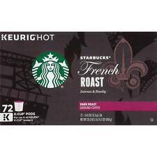 Starbucks French Roast Coffee K-Cups 72 ct - New - Freeshipping