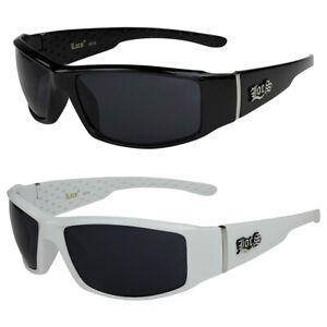 2er Pack Locs 9078 Choppers Bikerbrille Sonnenbrille Herren Damen schwarz weiß