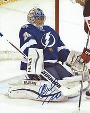 Evgeni Nabokov Signed 8x10 Photo Tampa Bay Lightning Autographed COA
