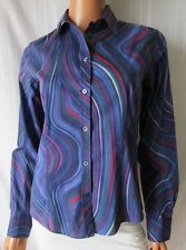 PAUL SMITH BLACK CAMICIA Shirt TG.42 Fantasia a Righe Multicolore Cod.S