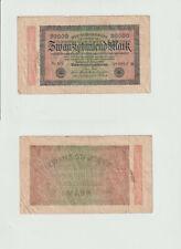 20.000 Mark 1923 G-MV Deutsches Reich - Reichsbanknote - 0329