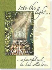 a beautiful soul has been called home With Heartfelt Sympathy Card New