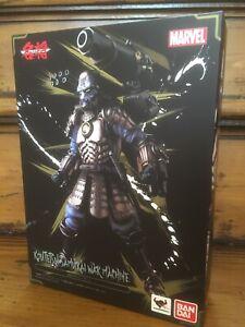 Marvel Bandai Tamashii Koutsetsu Samurai War Machine Web Exclusive Figure NEW