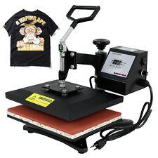 "T-Shirt Heat Press Sublimation Transfer Machine Compact 10"" x 12"" Swing Away"