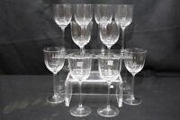"New Vtg. Set of 10 Schott-Zwiesel Crystal HENRIETTE Stemware 7 1/2"" Wine Glasses"