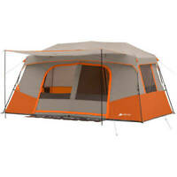 Ozark Trail 11 Person 3 Room Instant Cabin Tent Outdoor Camping Private Room