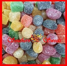 HARD JUBES SUGAR COATED COLOURFUL RAINBOW LOLLIES 1KG APPROX 170CT MADE IN AUST