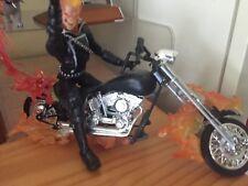 Marvel Legends Ghost Rider loose complete figure (Rhino BAF series) custom bike