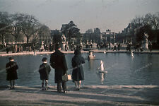 Farb-Dia-Paris-Jardin Tuileries-Île-de-France-agfacolor-R.Bothner-1940-land-3