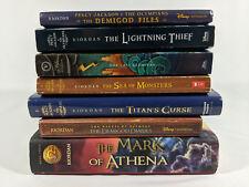 Lot of Rick Riordan Olympians Heroes Olympus Books FREE SHIPPING