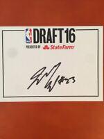 Jamal Murray Kentucky Wildcats Autographed Draft Card Rookie Denver Nuggets
