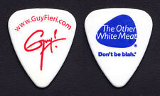 Guy Fieri Food Network Chef Signature White Guitar Pick - 2011 Tour