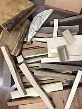 Wood Scraps Veneer.Strips.Huge Variety Walnut Cherry Maple Oak You Get Photo