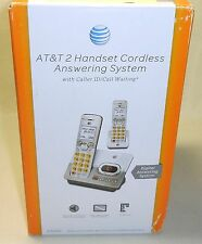 New AT&T EL52203 DECT 6.0 Cordless 2 Handset Phone w/ Digital Answering System