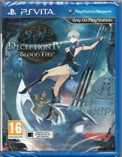 DECEPTION IV: BLOOD TIES GAME PS Vita Sony Playstation (4 four) ~ NEW / SEALED