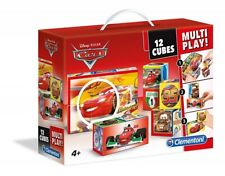 Clementoni Disney Cars Würfelpuzzle 12 Teile Cubes Puzzle NEU Auto Sportwagen