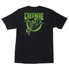 Creature Coffin Riders Skateboard T Shirt Black Medium
