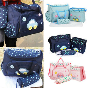 Baby Mummy Bag Changing Diaper Nappy Bag Travel Backpack Large Multi-Function UK