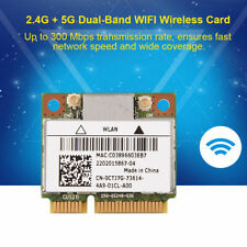 For Killer N1202 300Mbps Mini PCI-E Dual Band WiFi Bluetooth Wireless Wlan Card