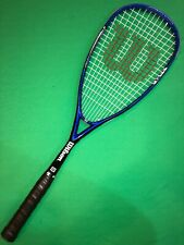 Wilson Pro Staff Fantom Squash Racquet Double Braid New Gamma Supreme Overgrip