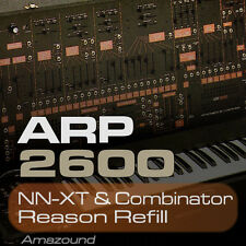 ARP 2600 REASON REFILL 370 COMBINATOR & NNXT PATCHES 5919 SAMPLES 24BIT QUALITY