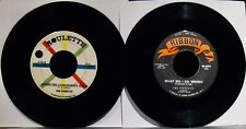 THE FIREFLIES & THE FIREFLYS ✦ 2 Radio Station 45's~60's~Soul-Teen-Rock 'N Roll