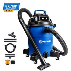 Vacmaster 4 Peak HP 8 Gallon Wet Dry Vacuum Cleaner  Powerful Suction Shop Vacs