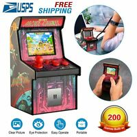 200 In 1 Mini Classic Arcade Game Cabinet Machine Retro Handheld Video Player US