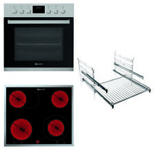 Bauknecht HEKO STAR 5 EX Einbau-Herd-Set Pyrolyse Pizza-Funktion Display EEK: A