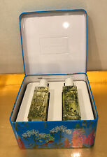 JO MALONE,WEEDS COLLECTION,2 X 30ml COLOGNES,LIMITED EDITION,PAINTED BOTTLES+TIN